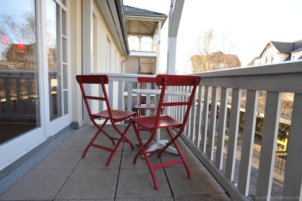 Der Nord-Balkon – der richtige Platz nach einem sonnigen Strandtag.